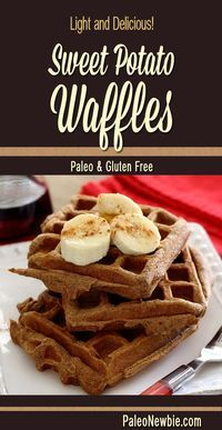 Light weight, big flavor – try this new healthy waffle recipe! Super easy and so good!