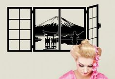 Muurstickers - Mount Fuji