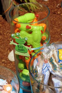 Space/aliens Birthday Party Ideas | Photo 1 of 61 | Catch My Party