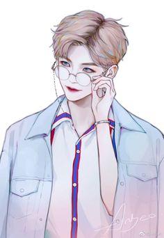 Nct na jaemin nct di 2019 anime art, anime, dan anime korea Cool Anime Guys, Handsome Anime Guys, Cute Anime Boy, Anime Art Girl, Manga Art, Anime Korea, Korean Anime, Korean Art, Kpop Drawings