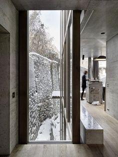 Kuster Frey Fotografie, Photographie, Luzern - Atelier Peter Zumthor & Partner, Atelierhaus Haldenstein -