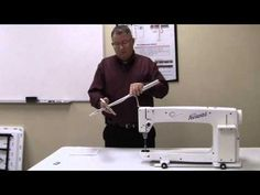 ▷ Handi Quilter Machine Timing Video - Section 5: Timing the ... : sweet 16 long arm quilting machine - Adamdwight.com