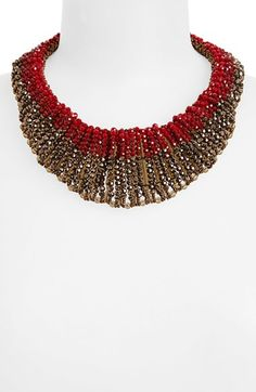 Nakamol Design 'Graduated' Crystal Collar Necklace | Nordstrom