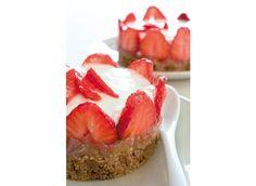 http://www.rustica.fr - Cheesecake à la fraise