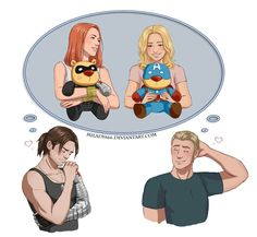 I don't like it but it's cute.  No way do I want Steve with her, there are many better options.