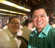 Ateneo BS-LM Class of 2000 represent! Assistant Secretary Kelvin Lee of the Office of the Executive Secretary (OES) and Assistant Secretary Kris Ablan of the Presidential Communications Office (PCO) at the ceremonial oath taking in Malacañang.