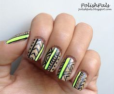 A is for Aztec Nails