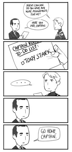 """sabrecmc: """"@spaceliondad did this adorable comic for Celestial Navigation. Wherein, Phil """"I'm Running Out of Forms For This Bullshit"""" Coulson is all of us. *Posted with permission of the amazing artist. """" OMG"""