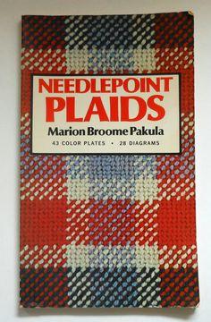 Vintage Needlepoint Plaids book