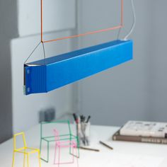 johannes kiessler shades numerouno LED using corrugated cardboard