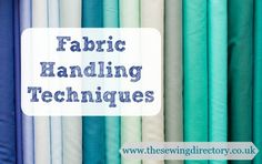 Learn how to sew with different types of fabric - stretch, delicate laces, cotton, leather, and loads more!