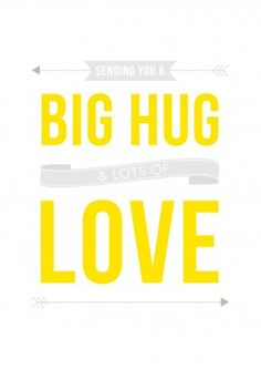 Big+Hug+Lots+Of+Love Get+Well+Soon+Card DO1058