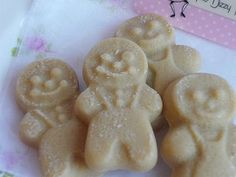 gingerbread people wax melts