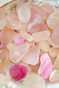 ⚓ Pink Sea Glass | Bella Mare Sea Glass