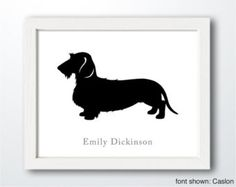 wire-haired dachshund silhouette - Google keresés