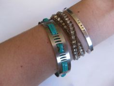 DIY Hose Clamp Bracelet. This was one of my favorite jewelry hardware store ideas ribbon here.
