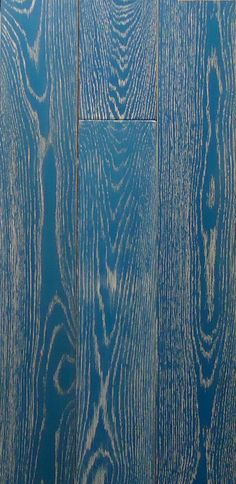 the inLOVE collection-custom color hardwood flooring made by PID Floors in Brooklyn. This is Blue Raspberry. Peacock Blue Bedroom, Pallet Floors, Wood Floor Pattern, End Table Makeover, Engineered Wood Floors, Wood Flooring, Floor Stain, Material Board, Wood Interiors