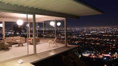 The Stahl House, Los Angeles, California. Architect: Pierre Koenig