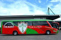 Ônibus oficial - Portuguesa de Desportos - Lusa
