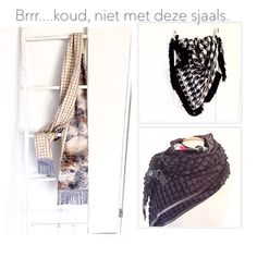 Handmade scarves at www.madebykeet.nl, unique, one of a kind
