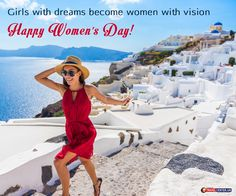 Girls with dreams become women with vision      Happy Women's Day! 👩 🎉       #TravelCenterUK #TravelCenterWishes #BestWishes #HappyWomensDay #WomensDayWishes #Celebrating #Joy #Happines