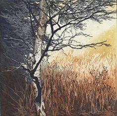UK Artist Chrissy Norman - Autumn Morning -  Printmaker