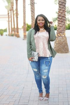 Fashion To Figure Denim + Plus Size Jeans + Outfit Inspiration + Curves On A Budget + Blogger
