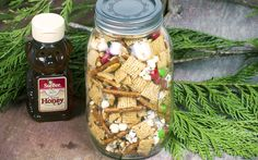 Santa's Honey Snack Mix