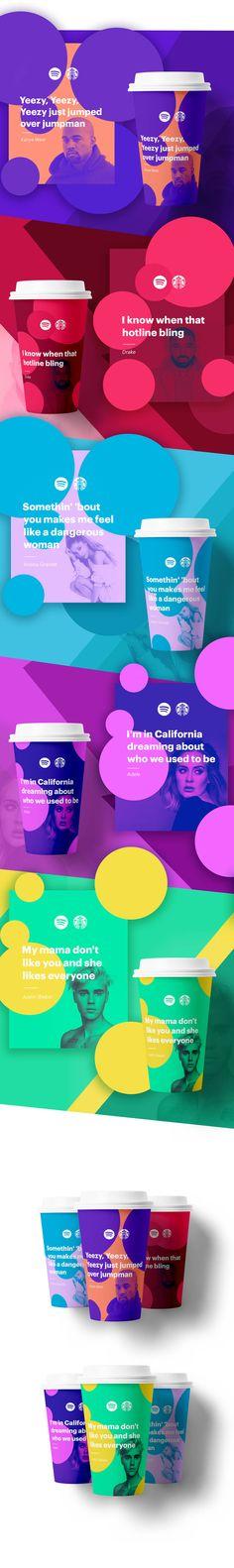 Imaginative Collaboration Spotify X Starbucks – Fubiz Media