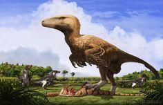 Dakotaraptor by FredtheDinosaurman.deviantart.com on @DeviantArt
