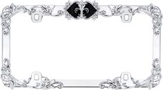 Sassy Auto Frames affordable Swarovski and bling license plate frames and accessories for your vehicle or motorcycle.