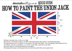 How to paint the union jack flag. a friend suggested beating up a Union Jack pinata for Battle of Yorktown Painted Furniture, Diy Furniture, Painted Dressers, Upcycled Furniture, Union Jack Decor, Union Flags, British Things, Just Dream, Thinking Day