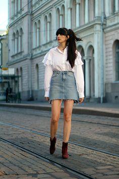 More looks by Paz Halabi Rodriguez: http://lb.nu/pazhalabirodriguez  #casual #edgy #street #blogger #newpost #santiago #chile #barcelona #madrid