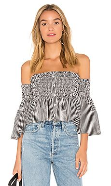 New FAITHFULL THE BRAND Cooper Top online. Find the  great Tularosa Clothing from top store. Sku vlrd58946bgry66524