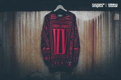 Criminal Damage #Sweatshirt Scorpian Long black/red Artikelnummer: 6020191; SHOP: snipes.com #criminaldamage #streetwear #snipes