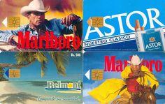 4 Phonecard / Tarjetas Telef Venezuela Cantv Publicidad Cigarrillos