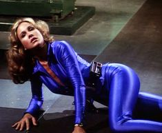 Erin Gray / Buck Rogers In The Century / Wilma Deering. Erin Gray, Comic Movies, Sci Fi Movies, Sci Fi Shows, Tv Shows, Buck Rodgers, Rogers Tv, Science Fiction, Sci Fi Tv Series