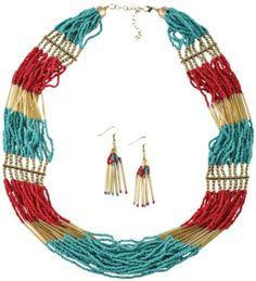 Mini Beaded Necklace Set - Sheplers