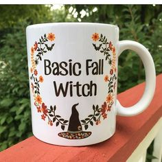 Because I'm a Basic Fall Witch