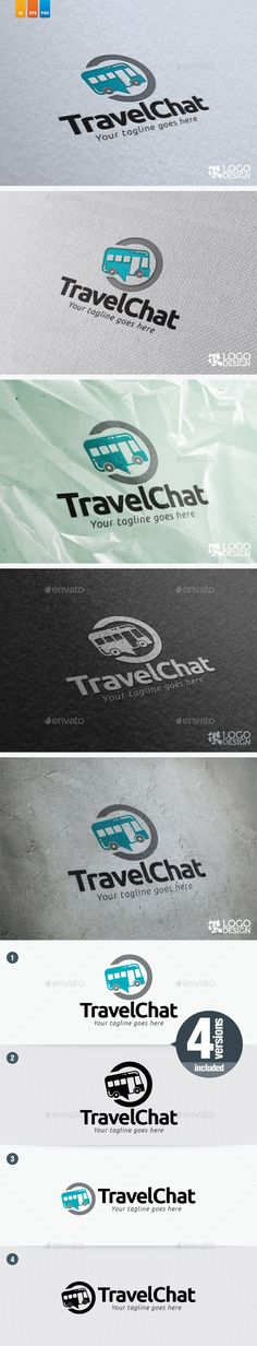 Travel Chat — Photoshop PSD #gateway #sea • Available here → https://graphicriver.net/item/travel-chat/9115081?ref=pxcr