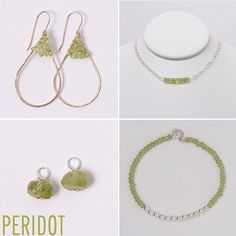 Looking for the perfect August birthday gift? We are loving these peridot birthstone designs💚 www.jewelya.com