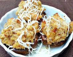 Copycat Olive Garden Stuffed Mushrooms. This Olive Garden Recipe will knock your socks off!