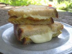 Real Family Camping: Easy Vegetarian Camping Recipe: Curried Grilled Cheese