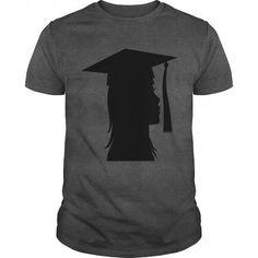 Girlgradsilhouette  T-Shirts