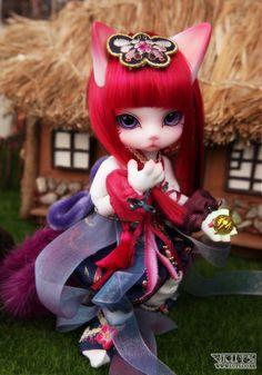 Zuzu Delf PERSI <~ cute ball jointed doll!
