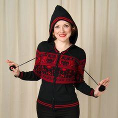 Sourpuss Clothing Gingerdead Zipper Hoodie