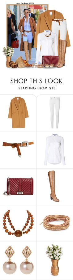 """Over the Knee Boots for Fall"" by mimi1207 ❤ liked on Polyvore featuring Leith, Burberry, ASOS, Ralph Lauren, Rebecca Minkoff, Franco Sarto, Miriam Haskell, Chan Luu, Ivanka Trump and Morphic"