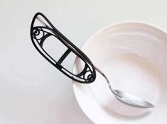 Eating Utensil Holder by mizu_labo on Shapeways. Learn more before you buy, or discover other cool products in Other.