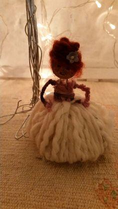 Bambolina fatta da mia figlia Beatrice