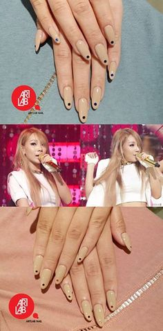 CL nude nails